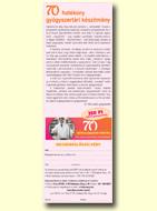 70 Hatékony gyógyszertári készítmény